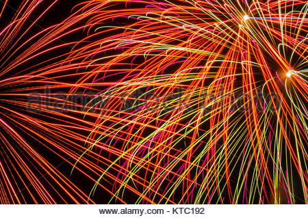 Colorful Spark - Stock Photo