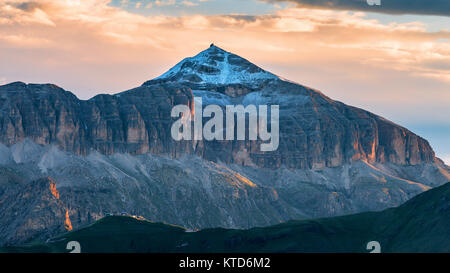 The Sella group. Piz Boè. The Dolomites - Stock Photo