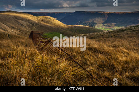 Pots 'n Pans Hill, Greenfield, Saddleworth, Greater Manchester, UK - Stock Photo