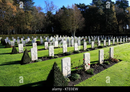 The German Military Cemetery, Cannock Chase Country Park, AONB, Staffordshire, England, UK - Stock Photo