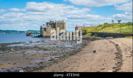 Blackness Castle, near the omonimous village in the council area of Falkirk, Scotland. - Stock Photo