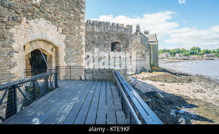 Blackness Castle, near the omonimous village in the council area of Falkirk, Scotland. - Stock Photo