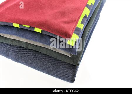 An concept Image of ironed laundry - Stock Photo