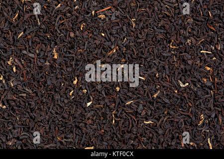 Black velvet tea background.  - Stock Photo