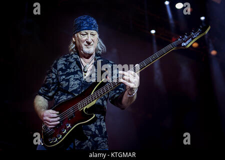 Deep Purple perform at the O2 Arena  Featuring: Roger Glover Where: London, United Kingdom When: 23 Nov 2017 Credit: - Stock Photo