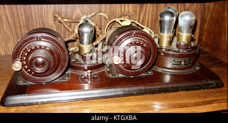 Atwater Kent Type TA detector and 2 stage AF amplifier