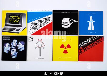 Kraftwerk The Catalogue - Stock Photo