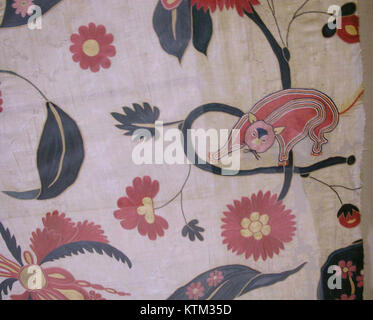 Bed Cover or Wall Hanging MET wb 54.21b - Stock Photo
