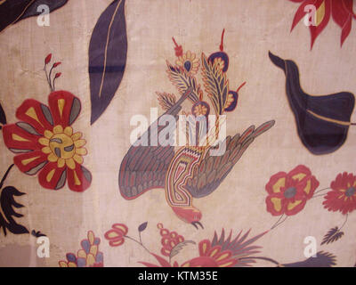 Bed Cover or Wall Hanging MET wb 54.21c - Stock Photo