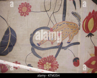 Bed Cover or Wall Hanging MET wb 54.21d - Stock Photo