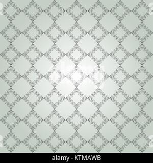 Pattern from black frame a light green background - Stock Photo