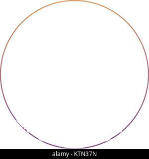 circle shape icon - Stock Photo