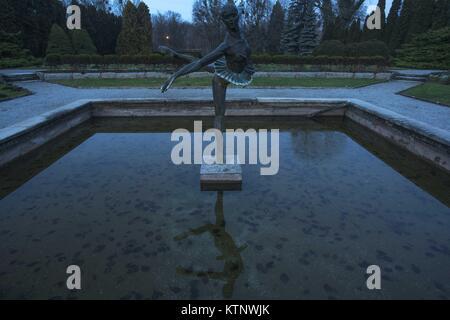 Poznan, Wielkopolska, Poland. 27th Dec, 2017. December 27, 2017 - Poznan, Poland - The Botanical Garden of the Adam - Stock Photo