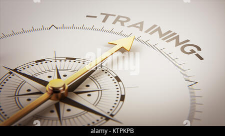 High Resolution Training Concept - Stock Photo
