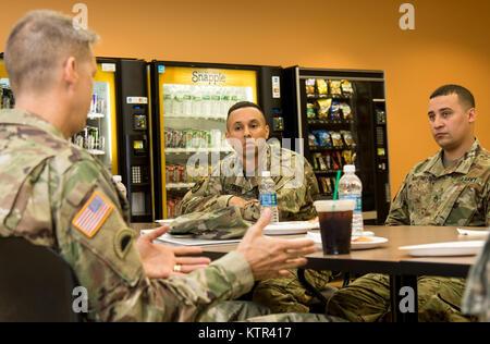 Lt. Gen. Daniel R. Hokanson, the deputy commander, U.S. Northern Command, and vice commander, U.S. Element, North - Stock Photo
