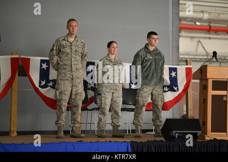 106th Rescue Wing December Drill Award Winners - Stock Photo