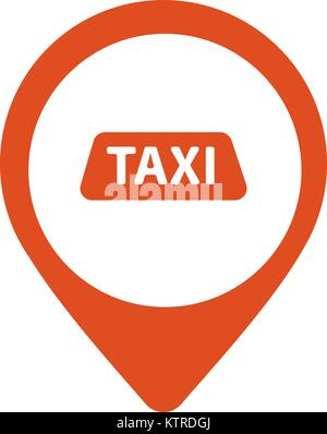 Taxi Service Emblem Icon Stock Vector Art Illustration Vector