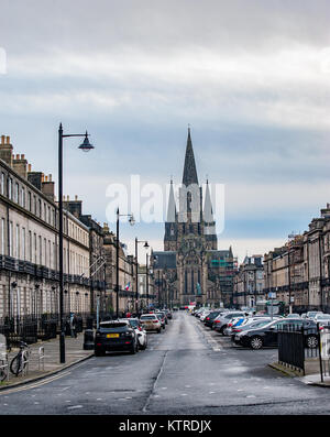 A view to St Mary's Cathedral - Stock Photo