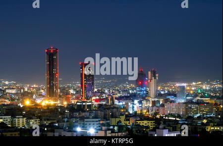 Modern Buildings In Abdali Area The New Downtown Of Amman Capital Jordan