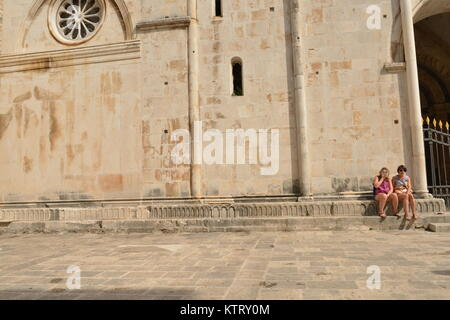 Scenes from the European country of Croatia - Stock Photo