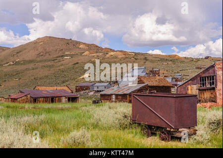 Leftover Mining Equipment - Stock Photo