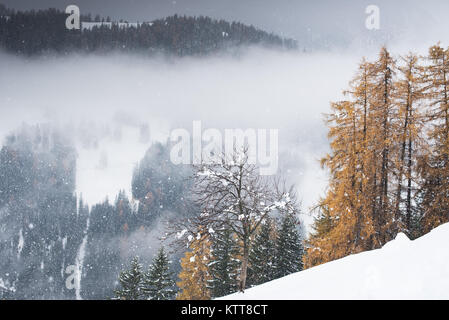 Pederoa, La Val, South Tyrol, Italian Dolomites - Stock Photo