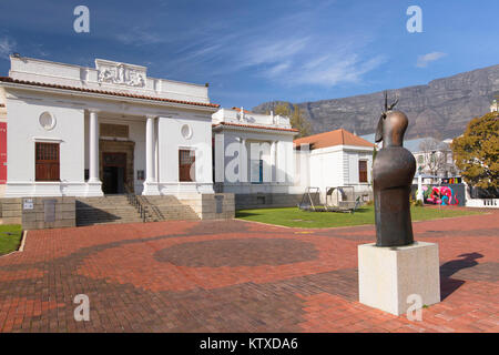 South African National Gallery, Company's Garden, Cape Town, Western Cape, South Africa, Africa - Stock Photo