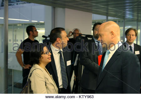 Foreign Secretary William Hague meeting with Iranian human rights lawyer and activist, Shadi Sadr (6146444585) - Stock Photo