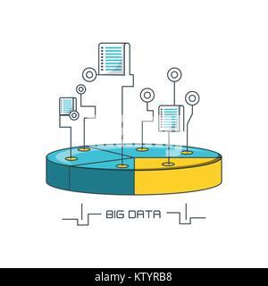 Big data design - Stock Photo