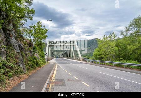 Ballachulish bridge in Lochaber, Scottish Highland - United Kingdom - Stock Photo