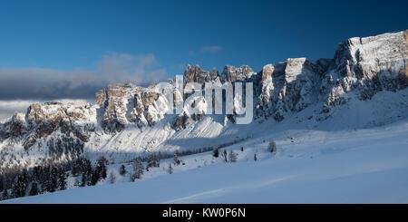 Giau Pass - Passo Giau - The Dolomites, Italy - Stock Photo