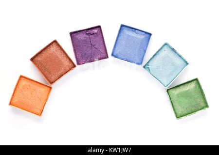 Eyeshadow palette - Stock Photo