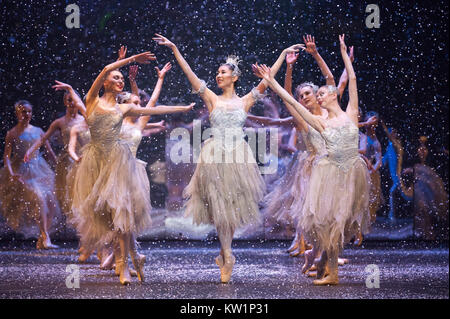 The Nutcracker ballet, brought to the Royal Albert Hall by the Birmingham Royal Ballet for the first time, between - Stock Photo