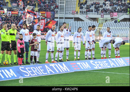 Turin, Italy. 30th Dec, 2017. during the Serie A football match between Torino FC and Genoa CFC at Stadio Grande - Stock Photo