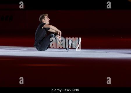 zagreb, croatia december 09, 2017: figure skating
