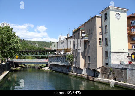 River in Rijeka, Croatia - Stock Photo
