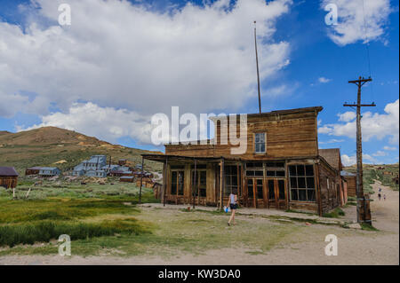 Old Saloon in  Ghost Town - Stock Photo