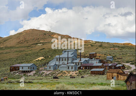 Bodie Stamp Mill - Stock Photo