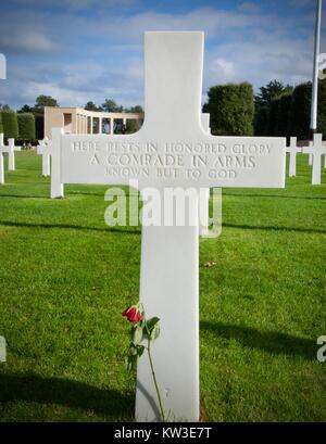 unknown soldier rests - Stock Photo