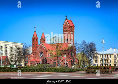 Church of saint Simon and Helena - Stock Photo