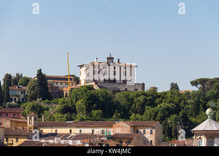 Italy, Florence - May 18 2017: the view of the Villa Agape Arrighetti in a sunny day on May 18 2017 in Florence, - Stock Photo