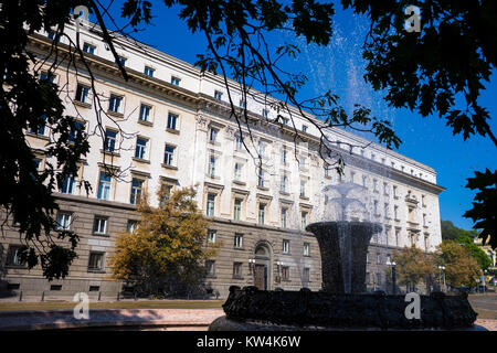 Building of National Assembly of Bulgaria in Sofia - Stock Photo