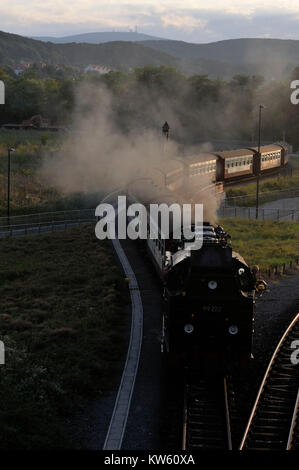 Harzer small-time road, Harzer Schmalspurbahn - Stock Photo