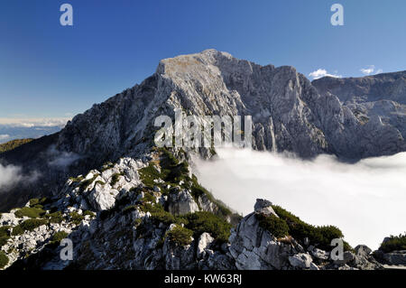 High Goell, Hoher Goell - Stock Photo