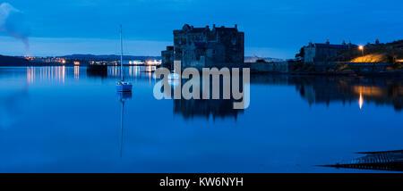 Blackness Castle, Scotland, UK, Sunset - Stock Photo