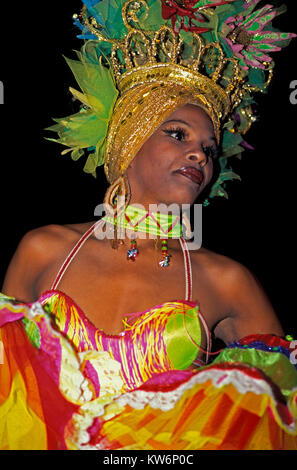 Revue TROPICANA,  Havanna, Cuba - Stock Photo