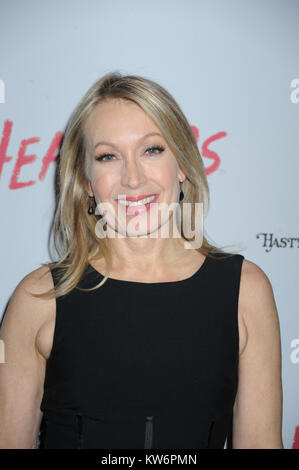 NEW YORK, NY - MARCH 31: Marguerite Derricks attends the off Broadway opening night of 'Heathers The Musical' at - Stock Photo