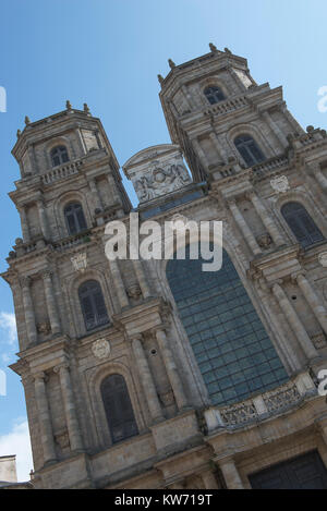 The Roman Catholic Cathedral of Saint Peter in Rennes, Ille-et-Vilaine, France. - Stock Photo