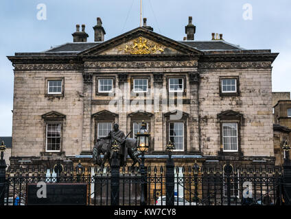 Georgian mansion in New Town, Dundas House, Royal Bank of Scotland registered head office, St Andrew Square, Edinburgh, - Stock Photo