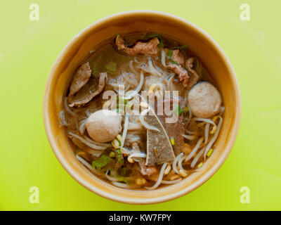 beef noodles - Stock Photo